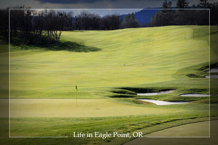16th Green at Eagle Point Golf Course
